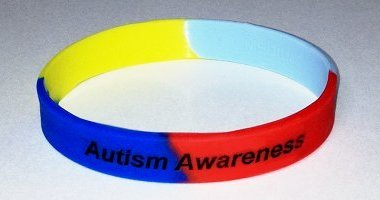 Autism Awareness Wristband - Multi-Color