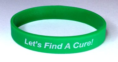 Kidney Disease Awareness Wristband - Green