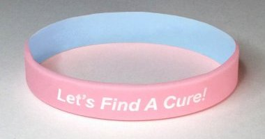 Infant Health Awareness Wristband - Pink & Blue