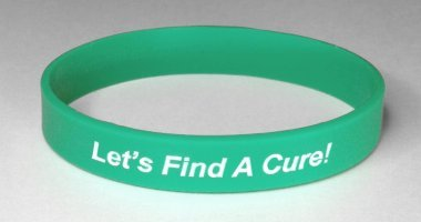 Ovarian Cancer Awareness Wristband - Teal