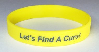 Liver Disease/Liver Cancer Awareness Wristband - Yellow